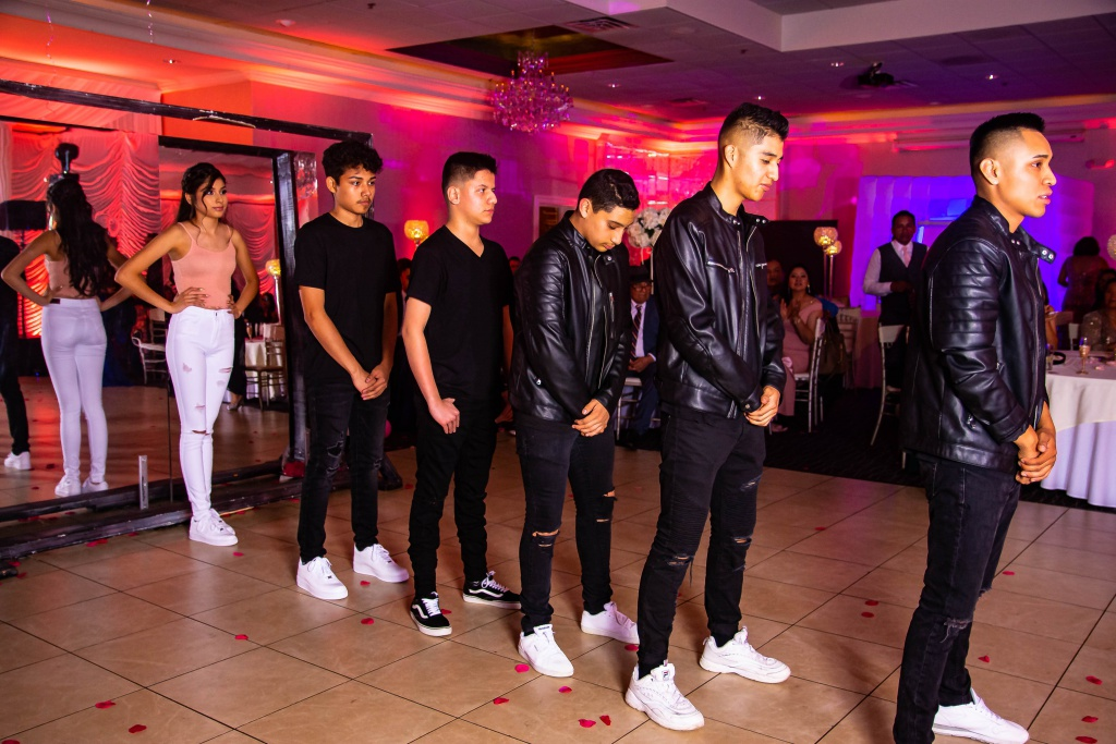 photography of dancing teenagers