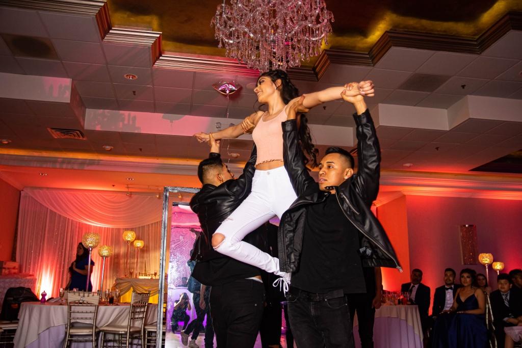 photography of dancing teens